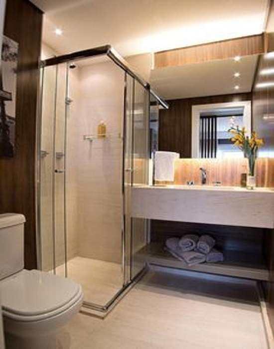 Box de banheiro modelo canto 04 folhas