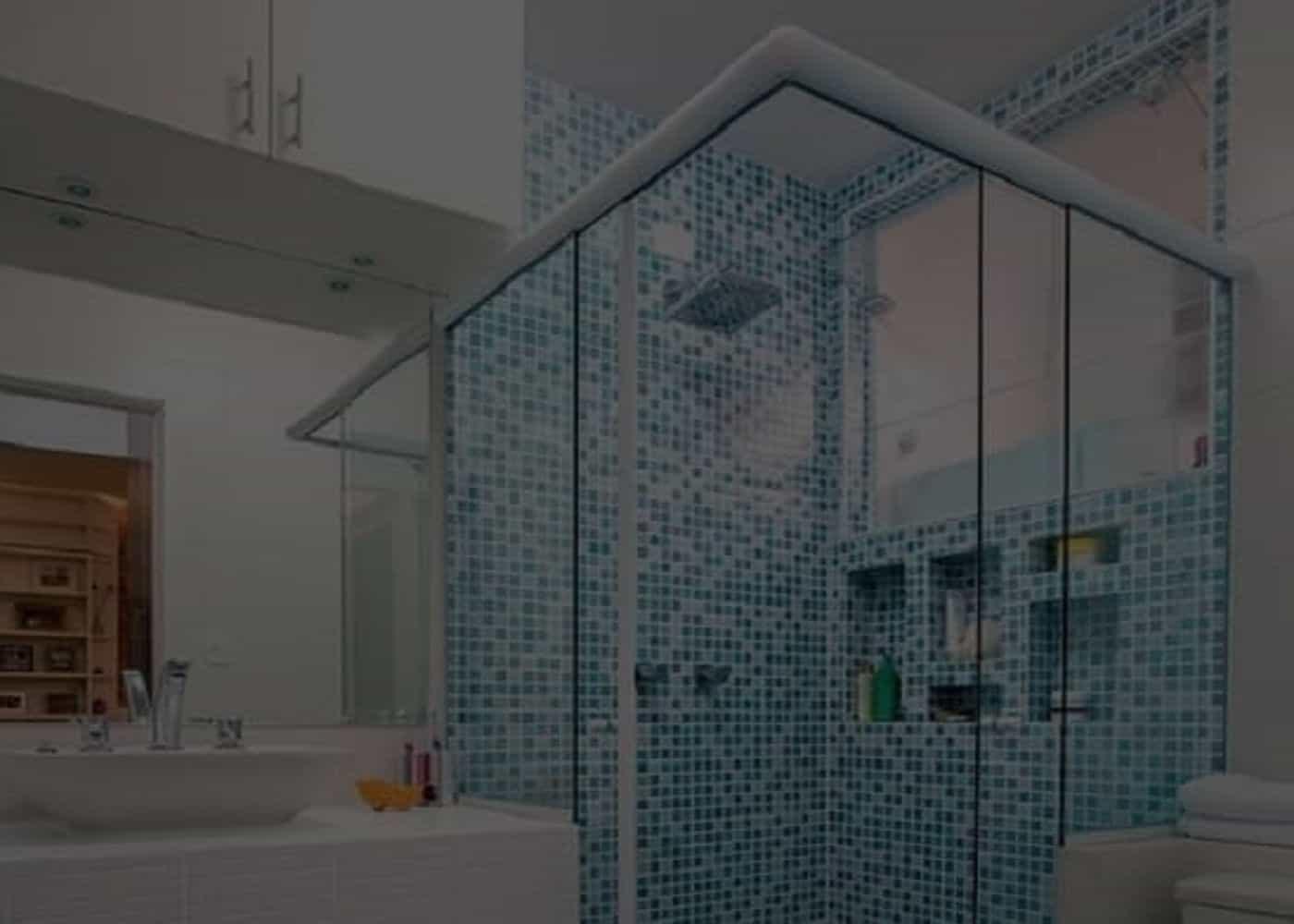 Box-de-Vidro-Temperado-SOBOX, Box de Banheiro, Box sobre Medida para Todos os Tipos de Banheiros Novos ou Reformados Recentemente.