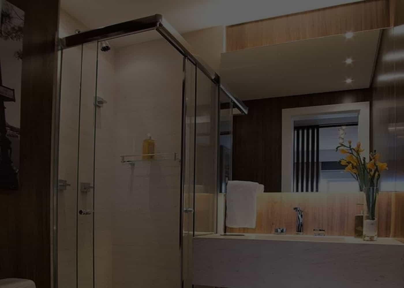 Box-para-Banheiro-de-vidro-SOBOX, Box de Banheiro, Box sobre Medida para Todos os Tipos de Banheiros Novos ou Reformados Recentemente.
