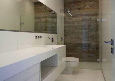 Espelho para banheiro cristal 4 mm, com bisotê.